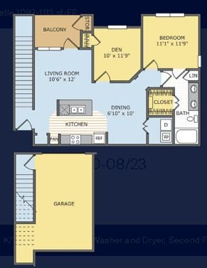 2 Bedrooms 1 Bathroom Apartment for rent at Legends At Lowes Farm in Mansfield, TX