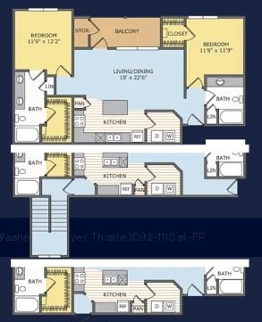 2 Bedrooms 2 Bathrooms Apartment for rent at Legends At Lowes Farm in Mansfield, TX