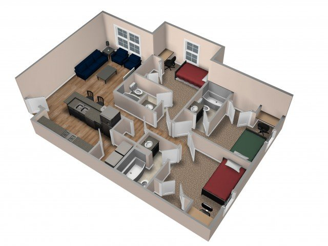 Astonishing Beacon Springfield Apartments Springfield Mo Interior Design Ideas Tzicisoteloinfo