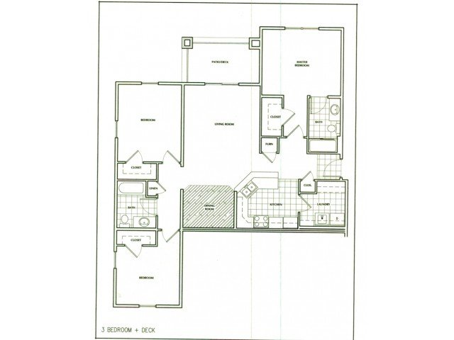 3 Bedrooms 2 Bathrooms Apartment for rent at The Villages At Nathanael Greene in Springfield, MO
