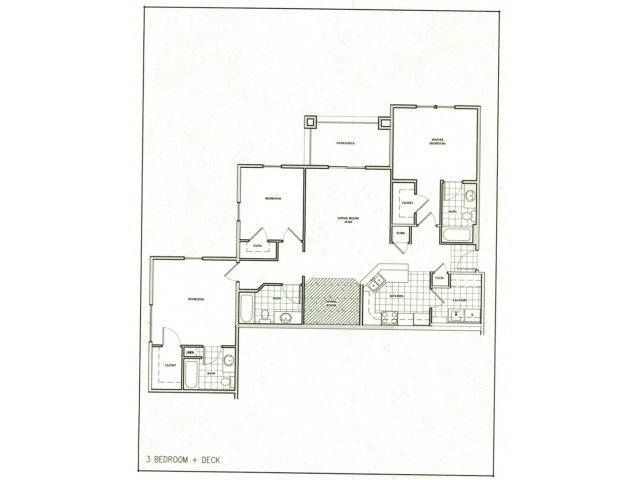 3 Bedrooms 3 Bathrooms Apartment for rent at The Villages At Nathanael Greene in Springfield, MO