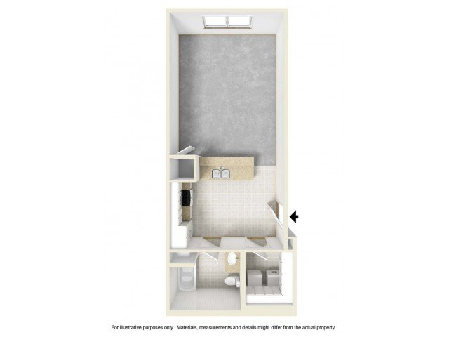 Studio 1 Bathroom Apartment for rent at The Villages At Nathanael Greene in Springfield, MO