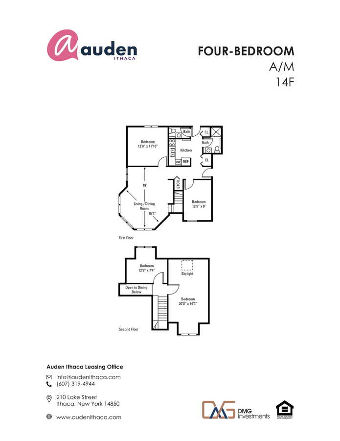 4 Bedrooms 1 Bathroom Apartment for rent at Auden Ithaca in Ithaca, NY