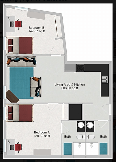 2 Bedrooms 2 Bathrooms Apartment for rent at Northstar Dinkytown in Minneapolis, MN