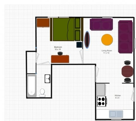1 Bedroom 1 Bathroom Apartment for rent at 1319 Rutledge St in Madison, WI