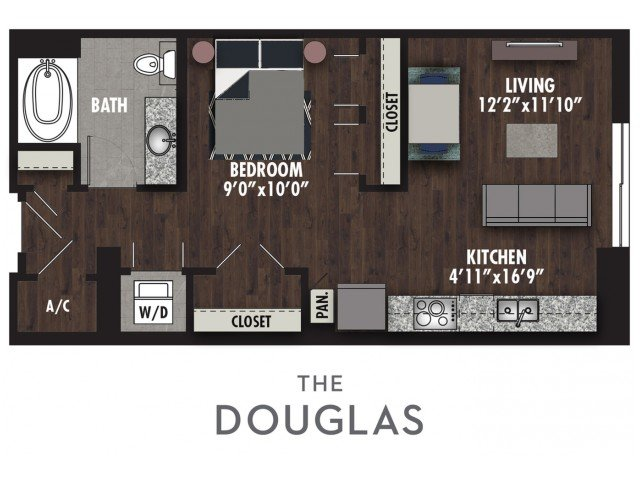 3 Bedrooms 3 Bathrooms Apartment for rent at The Royal in Dallas, TX
