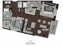 2 Bedrooms 2 Bathrooms Apartment for rent at The Royal in Dallas, TX