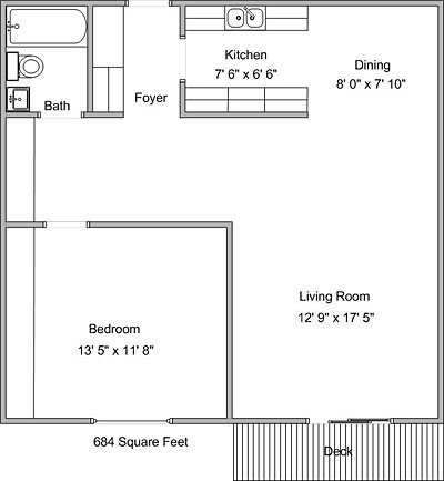 1 Bedroom 1 Bathroom Apartment for rent at Montreal Courts in Little Canada, MN