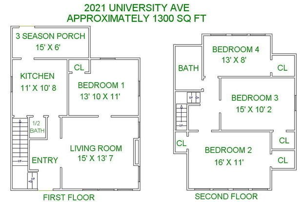 5 Bedrooms 2 Bathrooms House for rent at 2021 University Avenue in Madison, WI