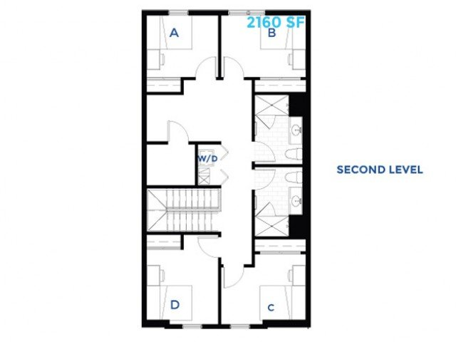 4 Bedrooms 2 Bathrooms Apartment for rent at West Quad in Champaign, IL