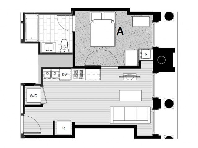 1 Bedroom 1 Bathroom Apartment for rent at Student Housing - Arc in Chicago, IL