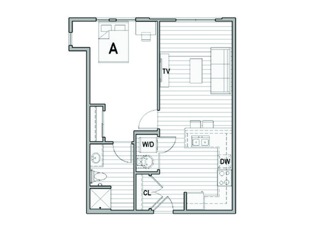 1 Bedroom 1 Bathroom Apartment for rent at Student Housing - Uncommon Columbus in Columbus, OH