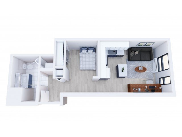 1 Bedroom 1 Bathroom Apartment for rent at Student Housing - Here Minneapolis in Minneapolis, MN