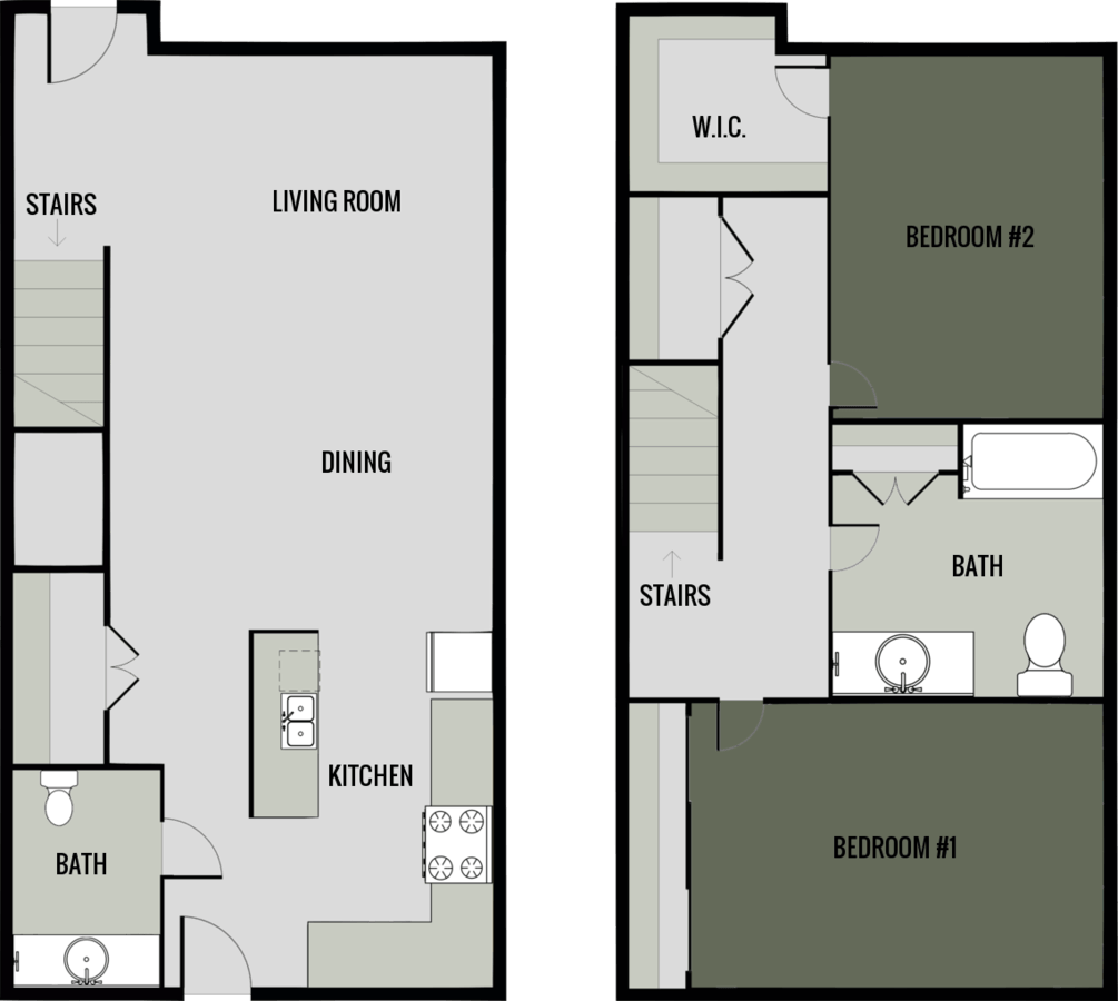 2 Bedrooms 1 Bathroom Apartment for rent at Jefferson Street Apartments in Ripon, WI
