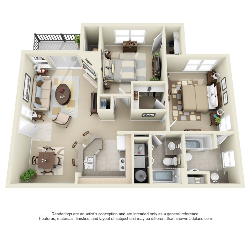 2 Bedrooms 2 Bathrooms Apartment for rent at Centro in Hillsboro, OR