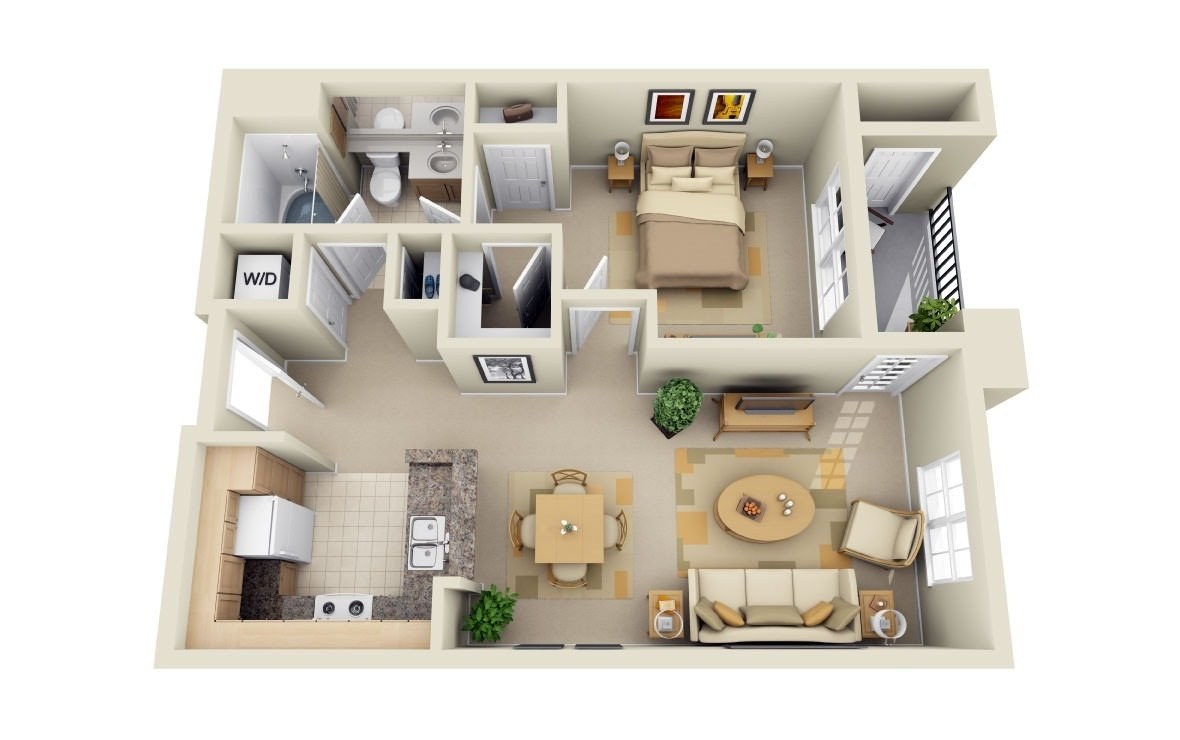 1 Bedroom 1 Bathroom Apartment for rent at Park Central in Concord, CA