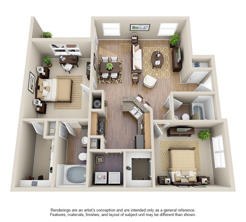Villas At Huffmeister Apartments