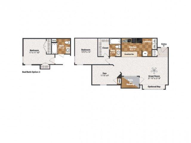 1 Bedroom 1 Bathroom Apartment for rent at Centennial Station in Cincinnati, OH
