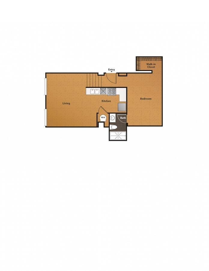 Studio 1 Bathroom Apartment for rent at East 8 Lofts in Cincinnati, OH