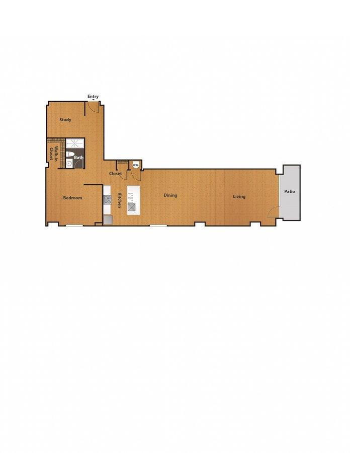 1 Bedroom 1 Bathroom Apartment for rent at East 8 Lofts in Cincinnati, OH