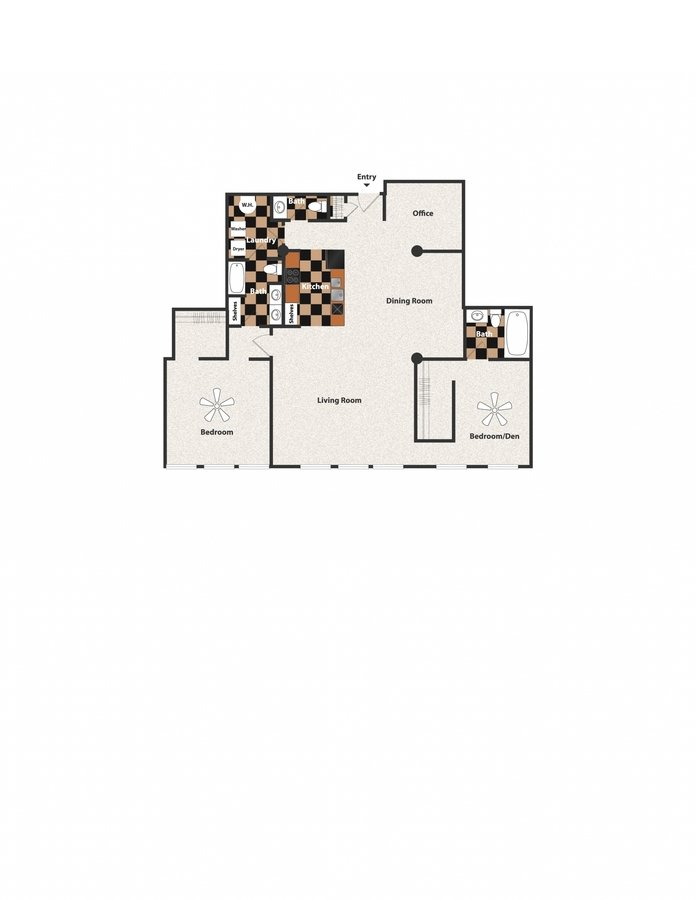 2 Bedrooms 1 Bathroom Apartment for rent at Sycamore Place in Cincinnati, OH