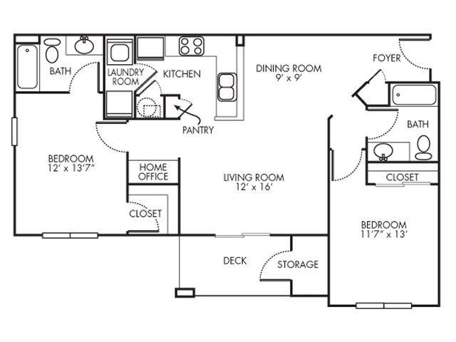 2 Bedrooms 2 Bathrooms Apartment for rent at Lakeshore Ridge Apartments in Birmingham, AL
