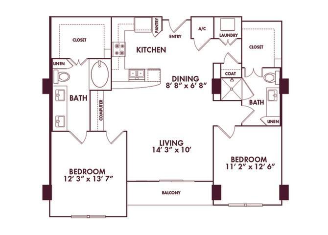 Memorial Hills Luxury Apartment Living