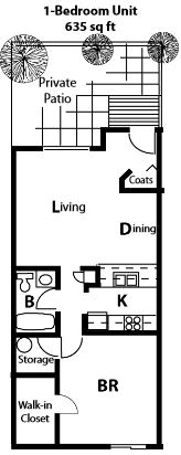 1 Bedroom 1 Bathroom Apartment for rent at Lakepoint Commons Apartments in Madison, WI
