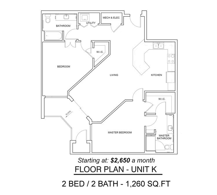 2 Bedrooms 2 Bathrooms Apartment for rent at The Braxton in Austin, TX