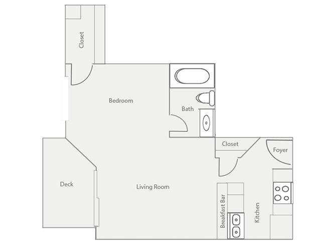 Studio 1 Bathroom Apartment for rent at Barrington Mill in Marietta, GA