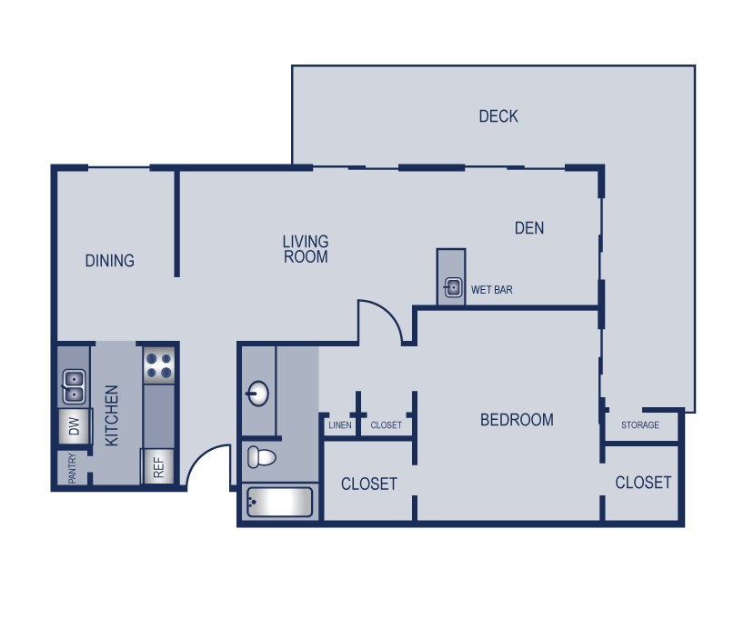 1 Bedroom 1 Bathroom Apartment for rent at Solaris in Austin, TX