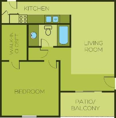 1 Bedroom 1 Bathroom Apartment for rent at The Element Austin in Austin, TX