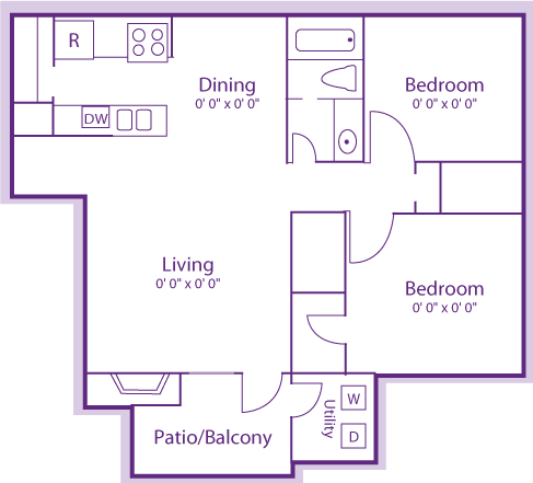 2 Bedrooms 1 Bathroom Apartment for rent at The Violet in Austin, TX