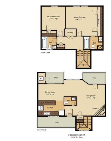 2 Bedrooms 2 Bathrooms Apartment for rent at Balcones Club in Austin, TX