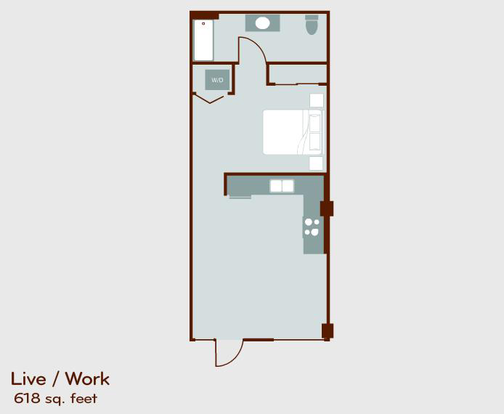 Studio 1 Bathroom Apartment for rent at Circa Green Lake in Seattle, WA