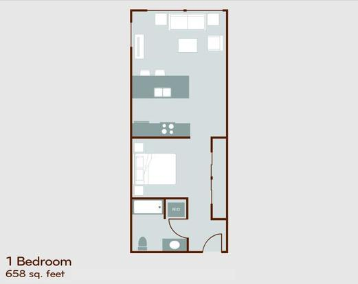 1 Bedroom 1 Bathroom Apartment for rent at Circa Green Lake in Seattle, WA