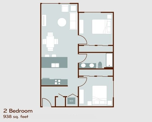 2 Bedrooms 1 Bathroom Apartment for rent at Circa Green Lake in Seattle, WA