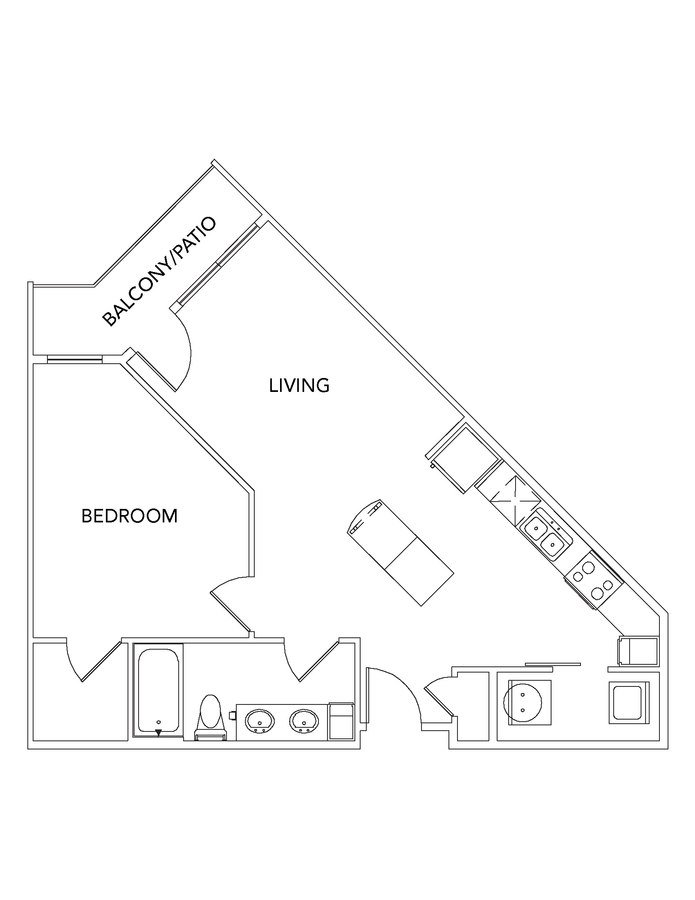 1 Bedroom 1 Bathroom Apartment for rent at Encore At Forest Park in St Louis, MO