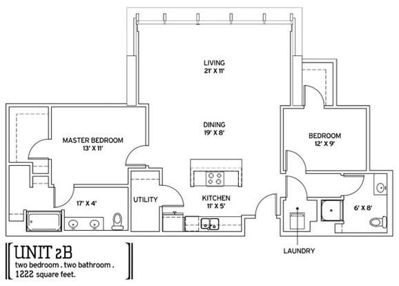 2 Bedrooms 2 Bathrooms Apartment for rent at Pointe 400 in St Louis, MO