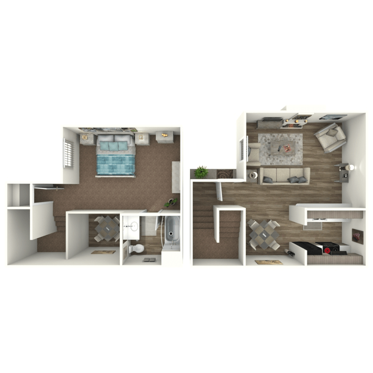 1 Bedroom 1 Bathroom Apartment for rent at Ava S in Dallas, TX