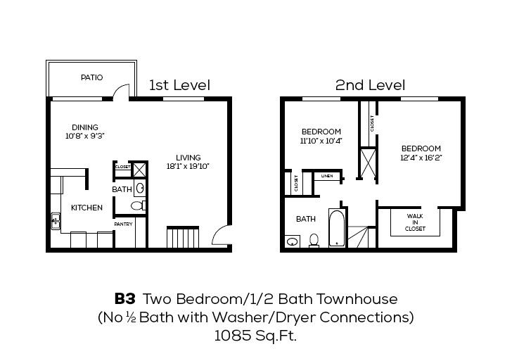 2 Bedrooms 1 Bathroom Apartment for rent at Broadway Oaks Apartment Homes in San Antonio, TX