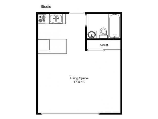 Studio 1 Bathroom Apartment for rent at 3030 Irving Ave S in Minneapolis, MN