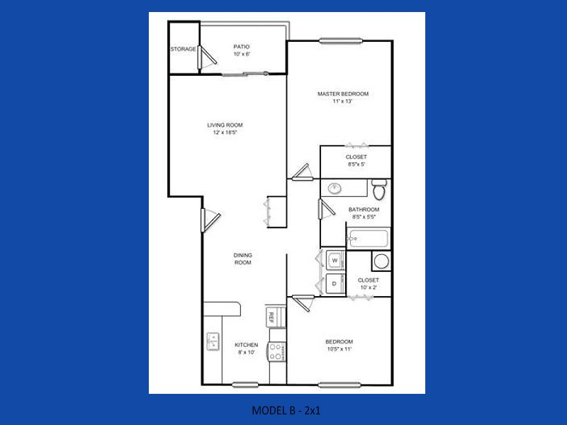 2 Bedrooms 1 Bathroom Apartment for rent at Atlas Apartments in Port Orchard, WA
