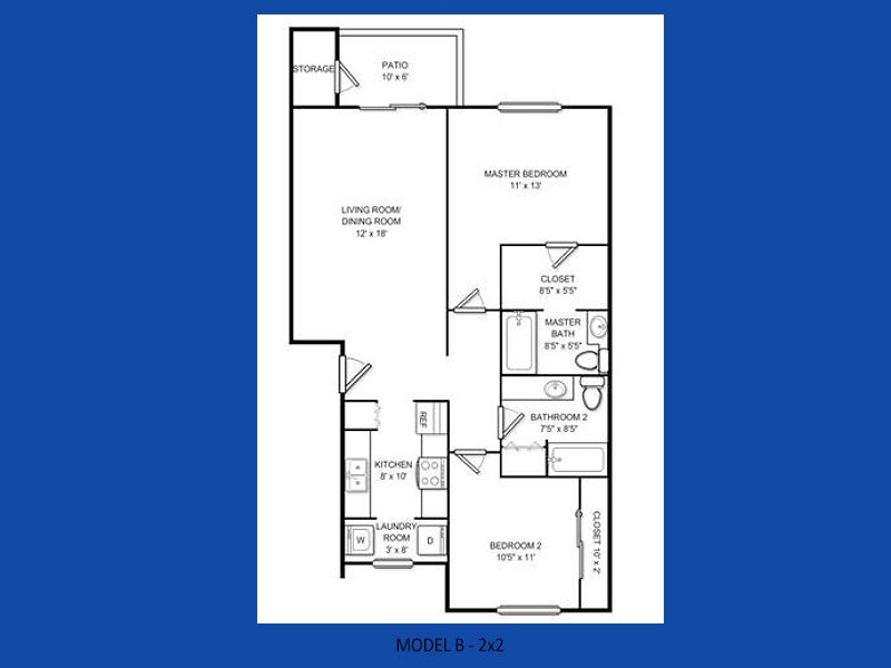 2 Bedrooms 2 Bathrooms Apartment for rent at Atlas Apartments in Port Orchard, WA