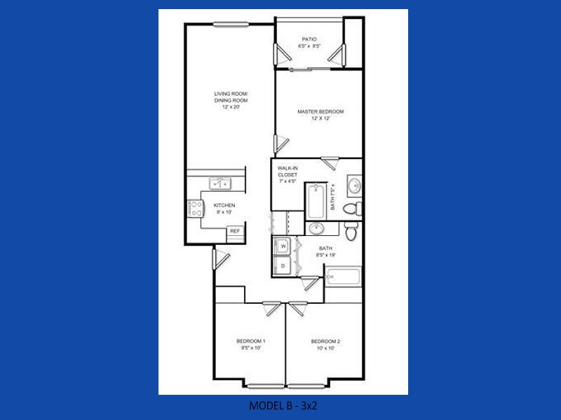 3 Bedrooms 2 Bathrooms Apartment for rent at Atlas Apartments in Port Orchard, WA