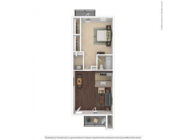 1 Bedroom 1 Bathroom Apartment for rent at Stillwater Apartments in Glendale, AZ