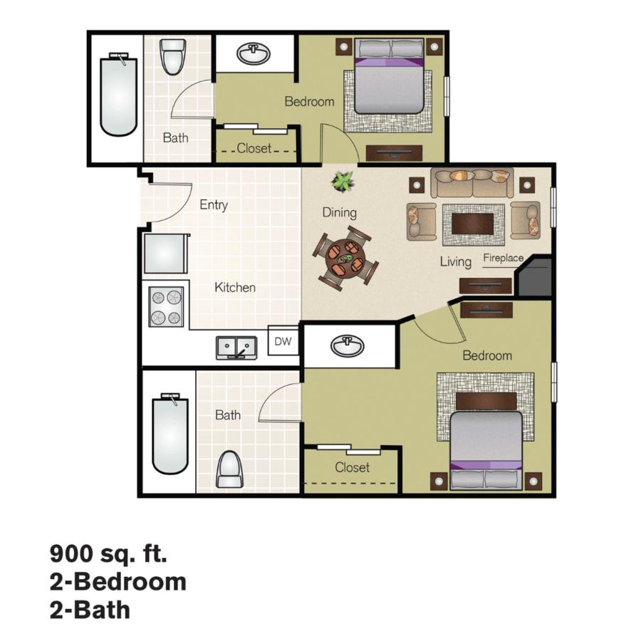 2 Bedrooms 1 Bathroom Apartment for rent at Residences At Daniel Webster in Merrimack, NH