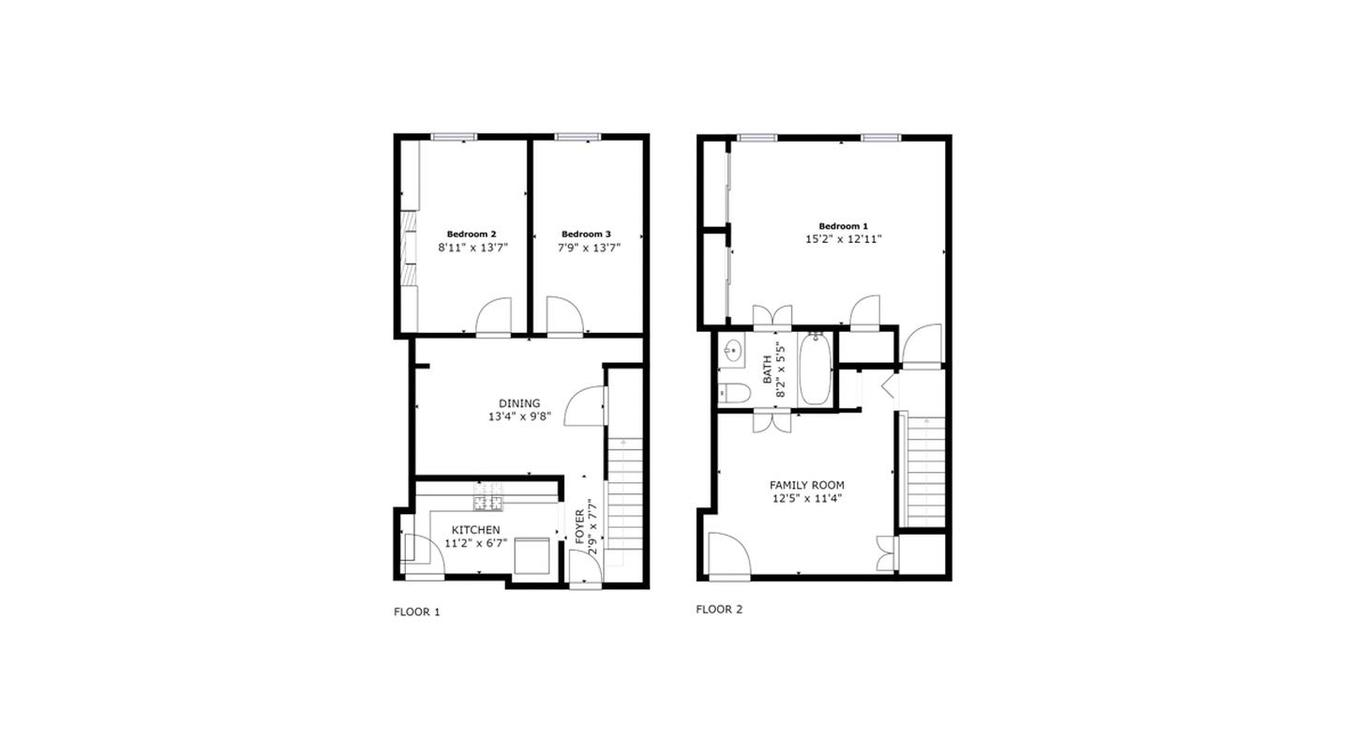 1 Bedroom 1 Bathroom Apartment for rent at 1817 Spruce St in Philadelphia, PA