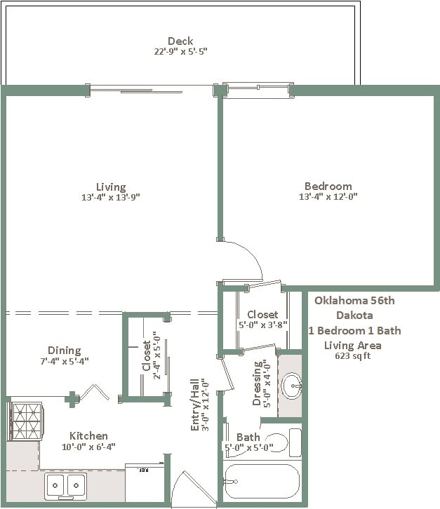 1 Bedroom 1 Bathroom Apartment for rent at Oklahoma Manor in Milwaukee, WI