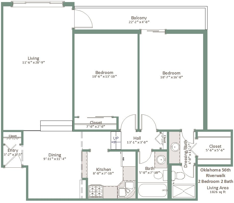 2 Bedrooms 2 Bathrooms Apartment for rent at Oklahoma Manor in Milwaukee, WI